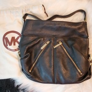 Authentic Black Leather Micheal Kors Purse